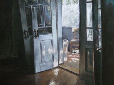 Drzwi na werandę
